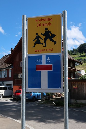 Swiss Traffic - Dead end with Exceptions