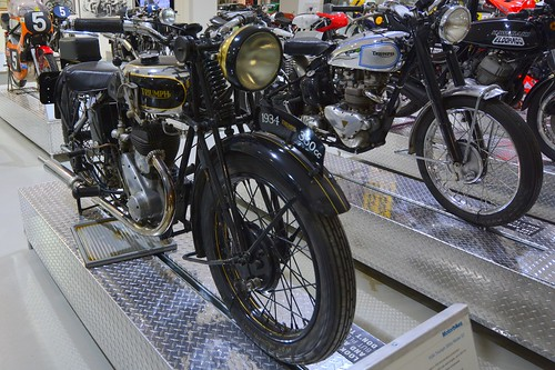 1934 Triumph 350cc Model 3-2 Motorcycle (2)