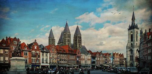 la Grand'Place de Tournai