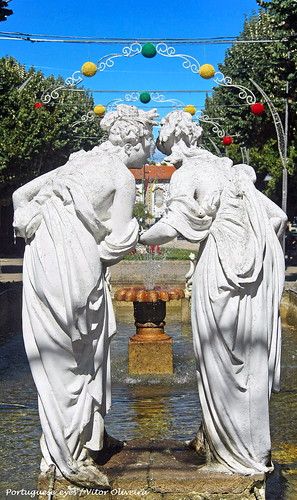 Jardim da Avenida Visconde Guedes Teixeira - Lamego - Portugal 🇵🇹