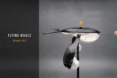LEGO-Flying Whale (Kinetic Art)