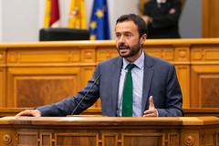 Pleno en las Cortes de Castilla-La Mancha