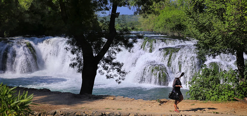 Depart from the Koćuša waterfall after a well spent day