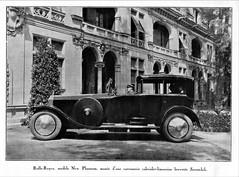 1925 Rolls-Royce New Phantom Cabriolet-Limousine