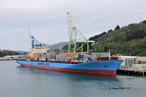Laust Maersk L-Class Container Ship Maersk Line