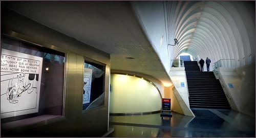 Gare des Guillemins, Liège, Belgique