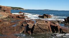 Rocky shore & waves (next to Thunder Hole, Mt. Desert Island, Maine, USA) 28