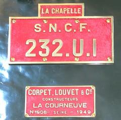 232U1 plate