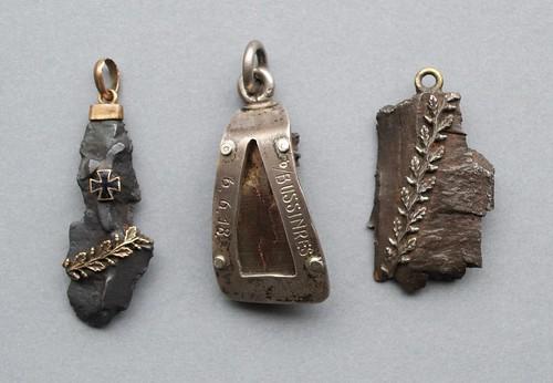shrapnel pendants