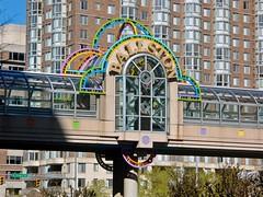 Pedestrian bridge over Wilson Blvd [02]