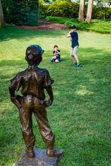 Baseball at the Arboretum