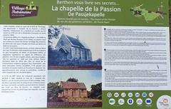 Berthen, la Chapelle catholique de la Passion - De Passjekapelle