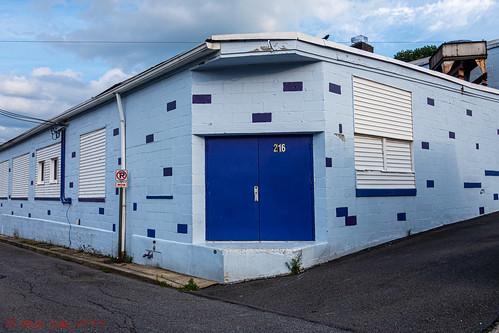 Odd Blue Building