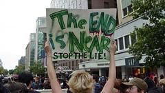 Anti-war protest, September 24, 2005