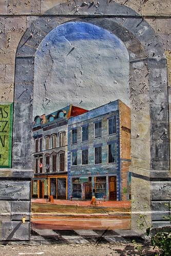 Belleville Ontario - Canada - Mural -   160 Front Street (Cablevue Facade)