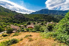 Vue du bas du village de Chisà
