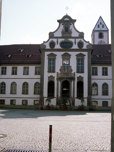 Former Benedictine Monastery of St Mang, Fussen, May 1988