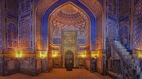 The inner part of Tillya Kari Madrasa (In Explore 12-07-2020)