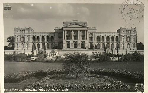 Museu Paulista (Museu do Ipiranga), São Paulo, setembro de 1931