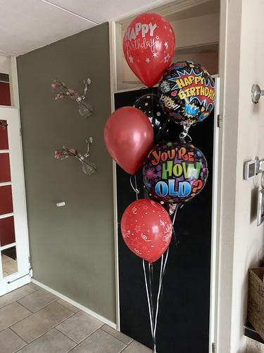 Ballonboeket Enzo Knol Power Verjaardag