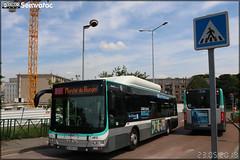 Man Lion's City CNG – RATP (Régie Autonome des Transports Parisiens) / Île de France Mobilités n°4812