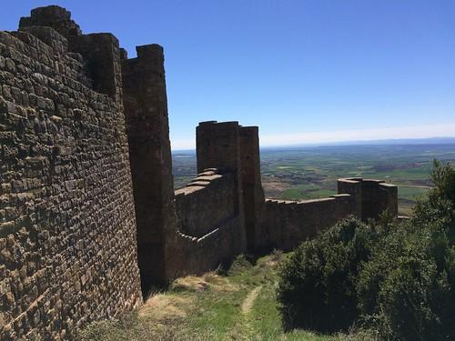 091 Loarre muralles