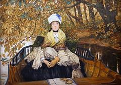 Waiting de James Tissot (Musée d'Orsay, Paris)
