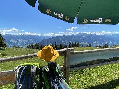 Wanderung im Rofan-Gebirge