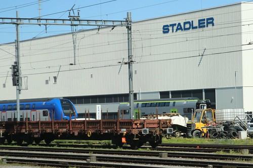 2020-07-08, BLS, St. Margrethen, Stadler Werk