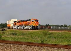 Three Brand New ES44C4's at Lambert, TX