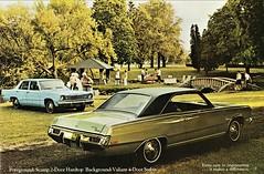 1973 Plymouth Scamp Hardtop & Valiant Sedan