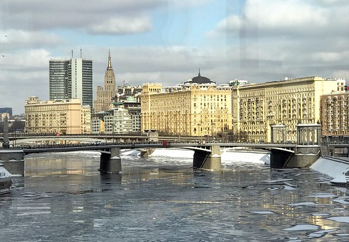 Frozen Moscow River