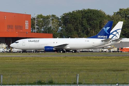 Bluebird Nordic Boeing 737-490(SF) TF-BBL