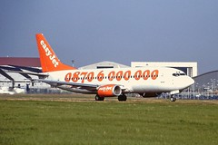 G-EZYL Boeing 737-300 EasyJet 04-09-99