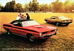 1973 Plymouth 'Cuda and Barracuda Hardtops