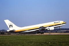 G-MONS A300 Monarch Luton 04-09-99