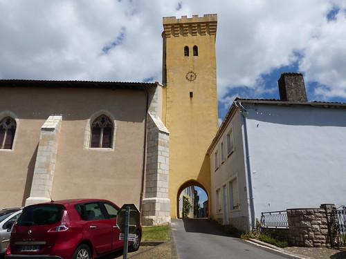 Montaut, Landes: église Sainte Catherine
