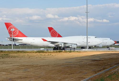 ACG Air Cargo Global Boeing 747-433(BDSF) OM-ACB
