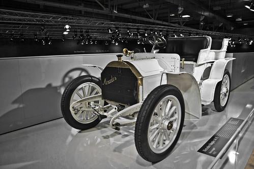 Mercedes Simplex 40PS Rennwagen 1902 (4630)