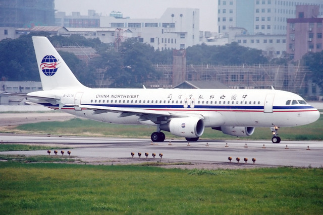 China Northwest Airlines | Airbus A320-200 | B-2375 | Guangzhou Baiyun (old)