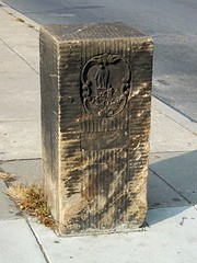 Boundary marker between Maryland and DC