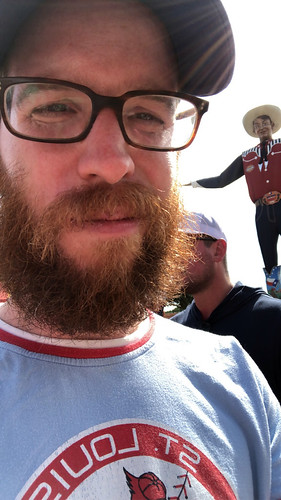 obligatory big tex selfie