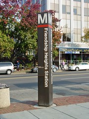 Friendship Heights station entrance pylon [01]