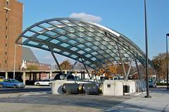 Canopy at Shaw-Howard University station