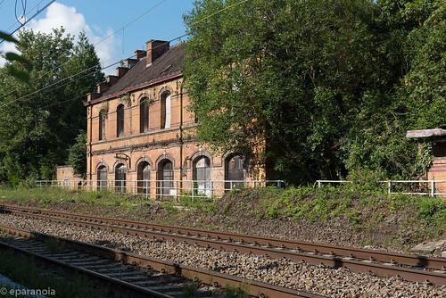 Gare de Cuesmes-Etat (HS) côté voies  L96/L109