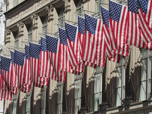 Saks Fifth Flags