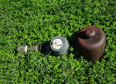 Covered Water Meter