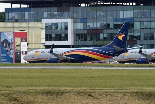 West Atlantic UK Boeing 737-83N(BCF)(WL) G-NPTC