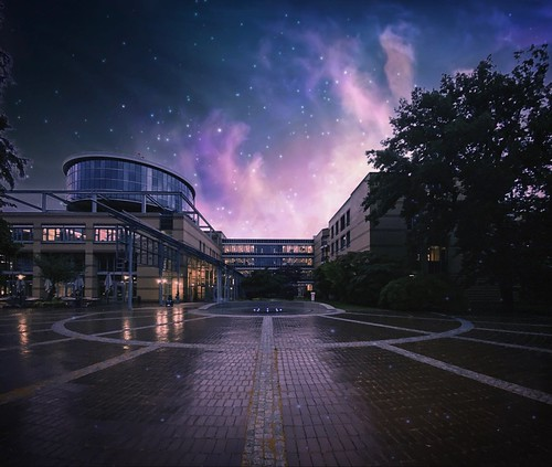 """The Accident Hospital Berlin by Night. ☆ """"Thanks for the Flickr explore"""""""