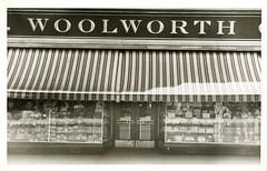 F.W. Woolworth Vintage Snapshot